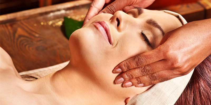 Herbal therapy massage